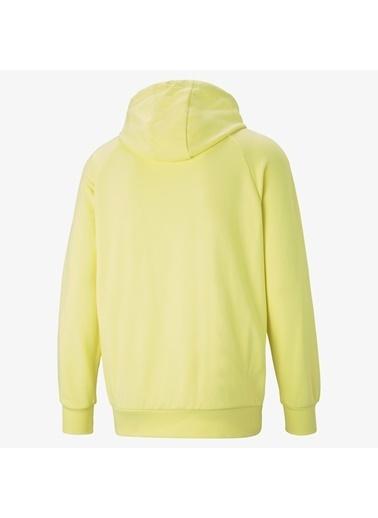 Puma Erkek Sarı International Graphic Sweatshirt 599799.04 Sarı
